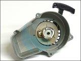 Trekstarter Aluminium ROOD - Gespoten Aluminium behuizing met Aluminium Rondsel!_