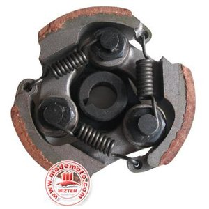 Standaard koppeling voor alle 47cc / 49cc minibikes - met BETERE schoentjes (bruin)!