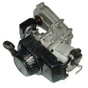 Compleet 47cc / 49cc motorblok voor minicrosser met lange tandwielkast