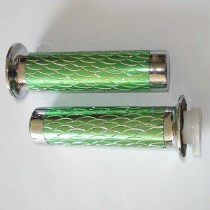 Handvaten - Groen / Zilver